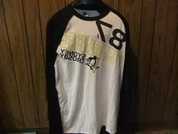 Sidney Crosby shirt baseball jersey NWT large Pittsburgh Pen
