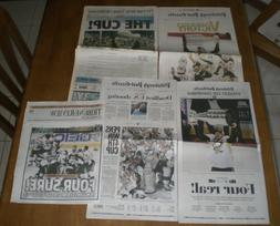 TWO 2016 & TWO 2009 PITTSBURGH PENGUINS WIN STANLEY CUP NEWS